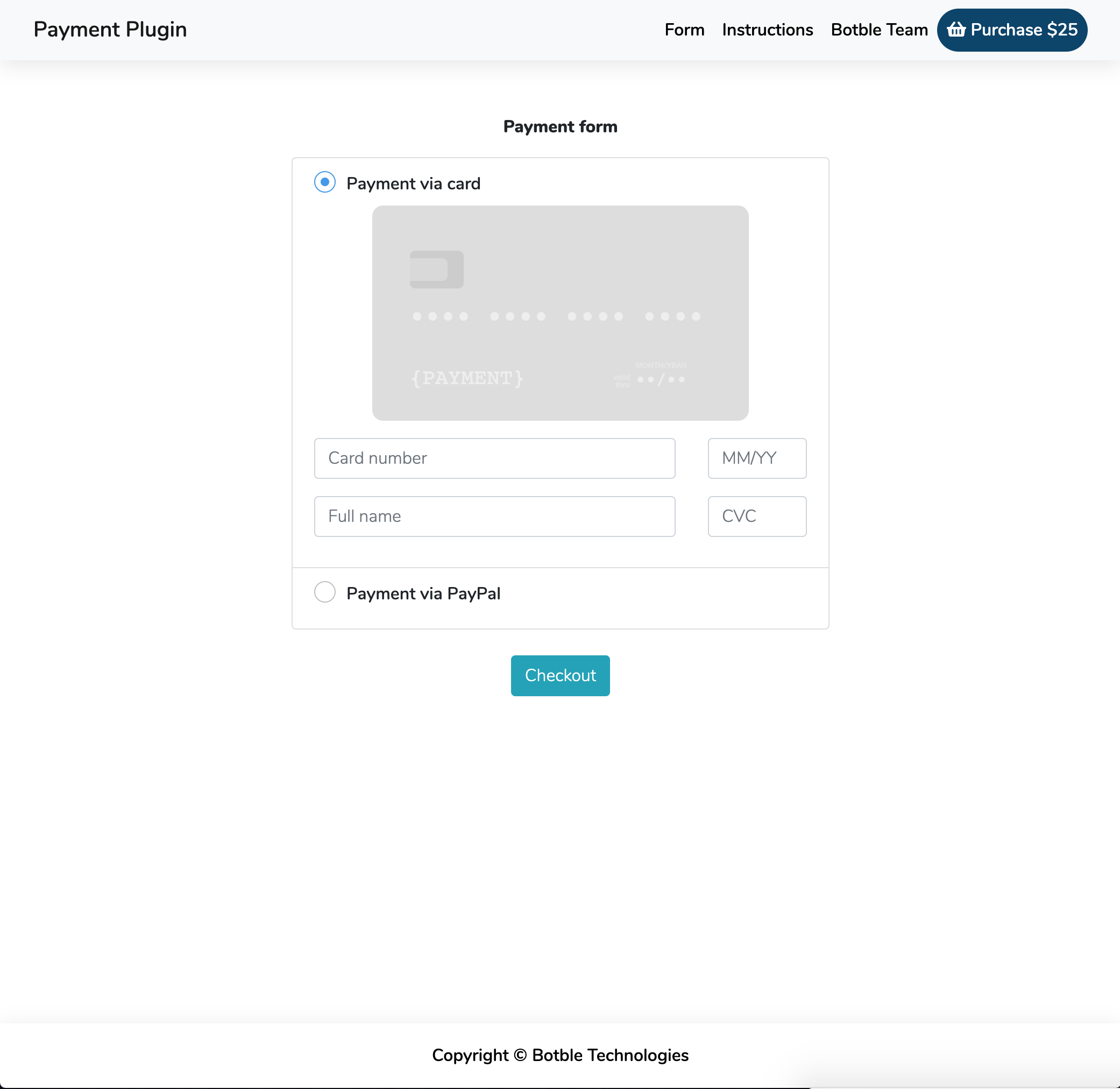 Payment with Stripe & PayPal, plugin for Botble CMS - 3 Payment with Stripe & PayPal, plugin for Botble CMS Nulled Free Download screen shot 2020 02 07 at 75516 am
